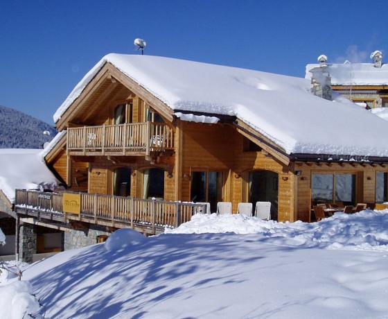 Luksusowy dom w Alpach: Chalet Infusion, Meribel, Francja