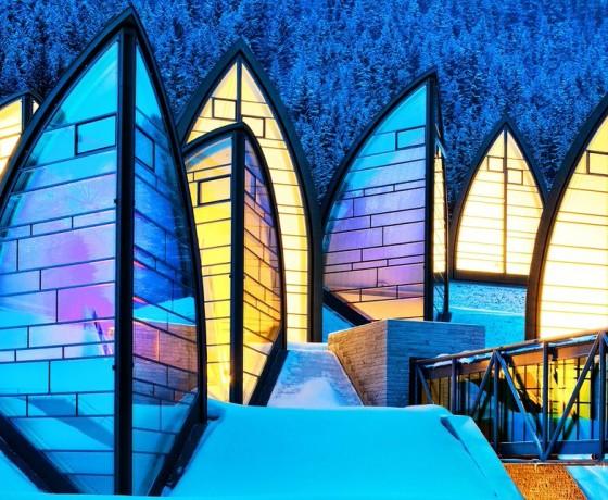 Tschuggen Grand Hotel Szwajcaria